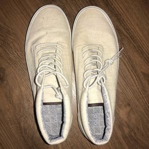 Men's white old navy sneakers
